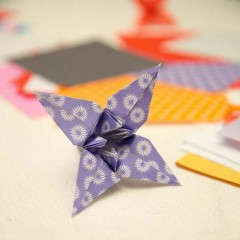 Flower e origami Potluck: 16 ottobre 2014 da Atelier Bellinzona